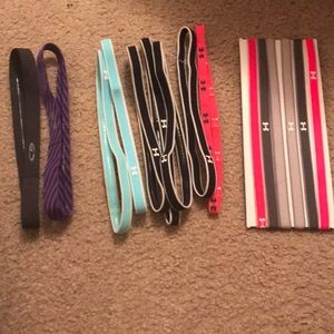 Lot of 13 Under Armour workout headbands -New